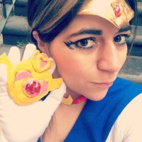 Cospleyeando- Sailor Moon